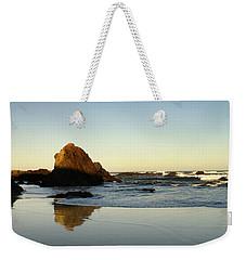 Ft. Bragg Moonset Weekender Tote Bag