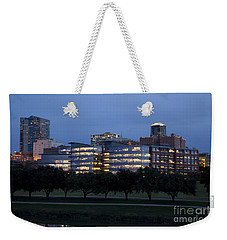 Ft. Worth Texas Skyline Weekender Tote Bag