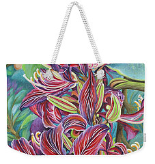Full Blossom Orchid Tree Weekender Tote Bag