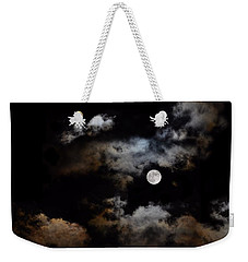 Full Moon After The Storm Weekender Tote Bag