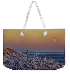 Full Moon Gathering Of Capricorn Weekender Tote Bag