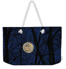 Full Moon March 15 2014 Weekender Tote Bag