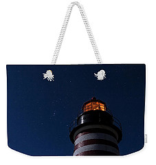 Full Moon On Quoddy Weekender Tote Bag
