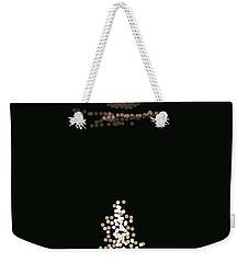 Full Moon Pointillism Weekender Tote Bag