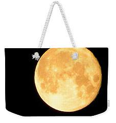 Full Moon Saturday Night Weekender Tote Bag