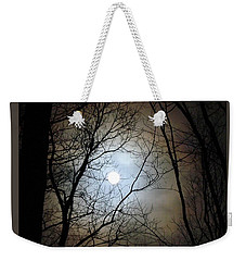Full Moon Through The Trees Weekender Tote Bag