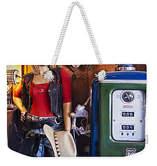 Full Service Route 66 Gas Station Weekender Tote Bag