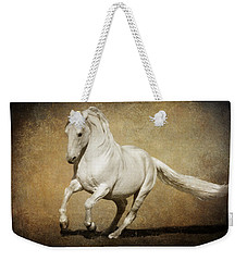 Weekender Tote Bag featuring the photograph Full Steam Ahead by Wes and Dotty Weber