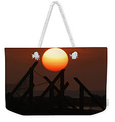 Weekender Tote Bag featuring the photograph Full Sun by Leticia Latocki