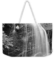 Fuller Falls Waterfall Black And White Weekender Tote Bag