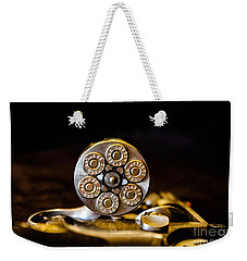 Weekender Tote Bag featuring the photograph Fully Loaded by Deniece Platt