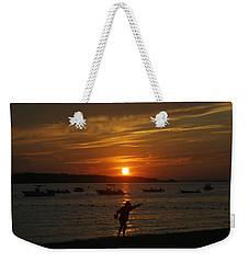 Fun At Sunset Weekender Tote Bag