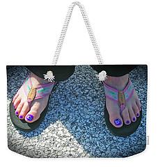 Fun Feet Weekender Tote Bag
