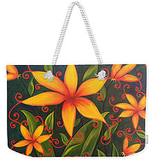 Fun Flowers Weekender Tote Bag