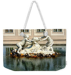 Weekender Tote Bag featuring the photograph Fun On The Water by Mariola Bitner
