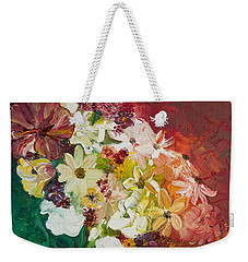 Fun With Flowers Weekender Tote Bag