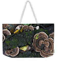 Fungi Contrast Weekender Tote Bag
