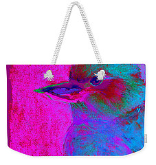 Funky Kookaburra Australian Bird Art Prints Weekender Tote Bag