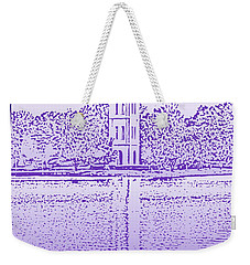 Furman Bell Tower Weekender Tote Bag