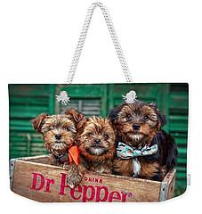 Furry Trio Weekender Tote Bag