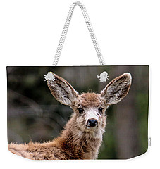 Fuzzy Fawn Weekender Tote Bag