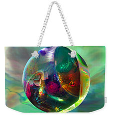 Weekender Tote Bag featuring the painting Gaelic Earth by Robin Moline