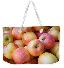 Weekender Tote Bag featuring the photograph Gala Apples by Joseph Skompski