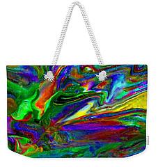 Galactic Storm Weekender Tote Bag