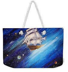Galactic Traveler Weekender Tote Bag