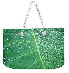 Galaxy Rain Weekender Tote Bag
