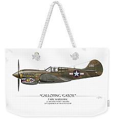Galloping Gator P-40k Warhawk Weekender Tote Bag