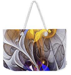 Galvanized Weekender Tote Bag
