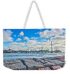 Galveston Pleasure Pier  Weekender Tote Bag