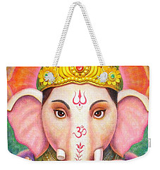 Ganesha's Blessing Weekender Tote Bag