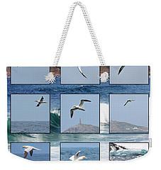 Gannets Galore Weekender Tote Bag by Terri Waters