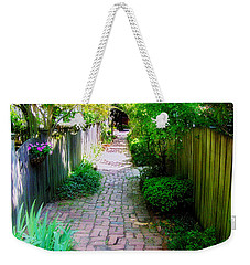 Garden Alley Weekender Tote Bag