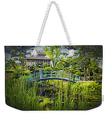 Garden At Houmas House Plantation La Dsc04584 Weekender Tote Bag