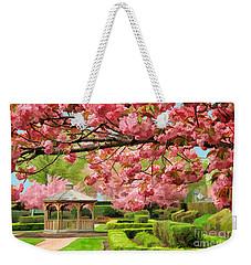 Garden Gazebo Weekender Tote Bag