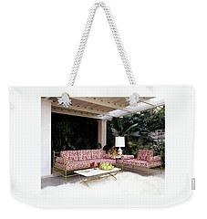 Garden-guest Room At The Chimneys Weekender Tote Bag