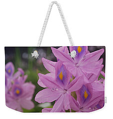 Weekender Tote Bag featuring the photograph Garden Is Watching by Miguel Winterpacht