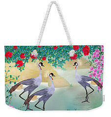 Garden Light - Limited Edition Of 15 Weekender Tote Bag by Gabriela Delgado