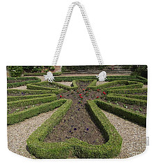 Weekender Tote Bag featuring the photograph Garden Of Peace by Tracey Williams