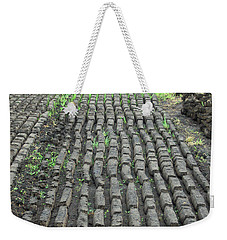 Weekender Tote Bag featuring the photograph Garden Of Peat by Brenda Brown
