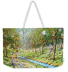 Garden Of Prosperity Weekender Tote Bag