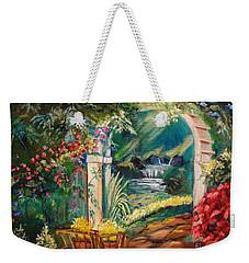 Garden Of Serenity Beyond Weekender Tote Bag