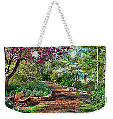 Garden Of Serenity Weekender Tote Bag by Kenny Francis