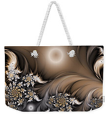 Weekender Tote Bag featuring the digital art Garden Of The Future by Gabiw Art