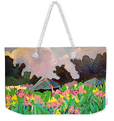 Garden Party 2 Weekender Tote Bag