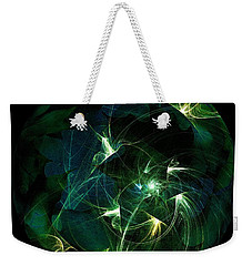 Garden Sprites Come At Night Weekender Tote Bag by Elizabeth McTaggart