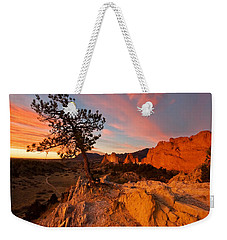Garden Sunrise Weekender Tote Bag by Ronda Kimbrow